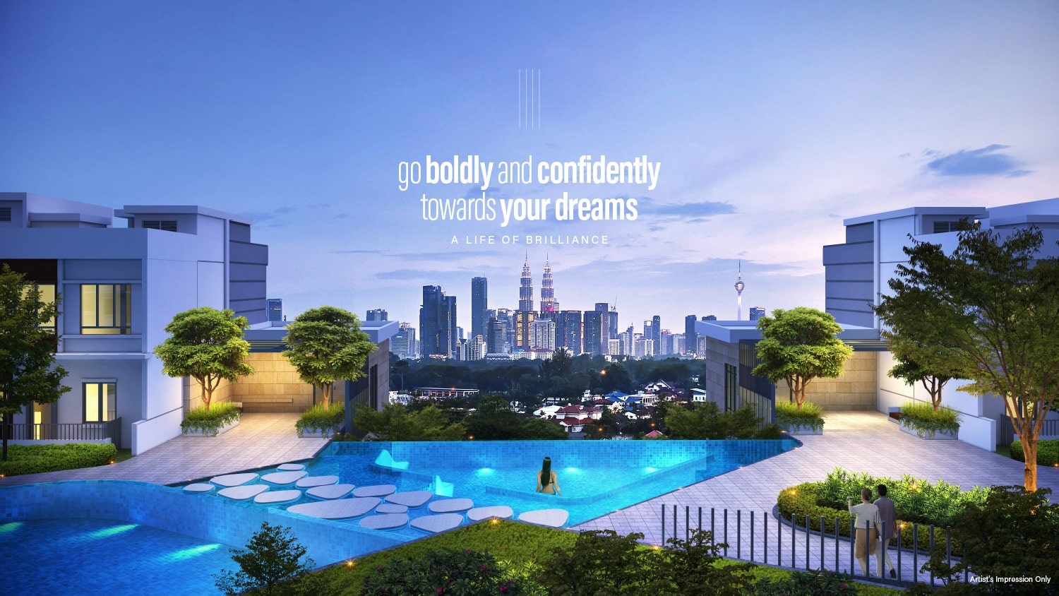 Go Bold and Confidently Towards Your Dreams