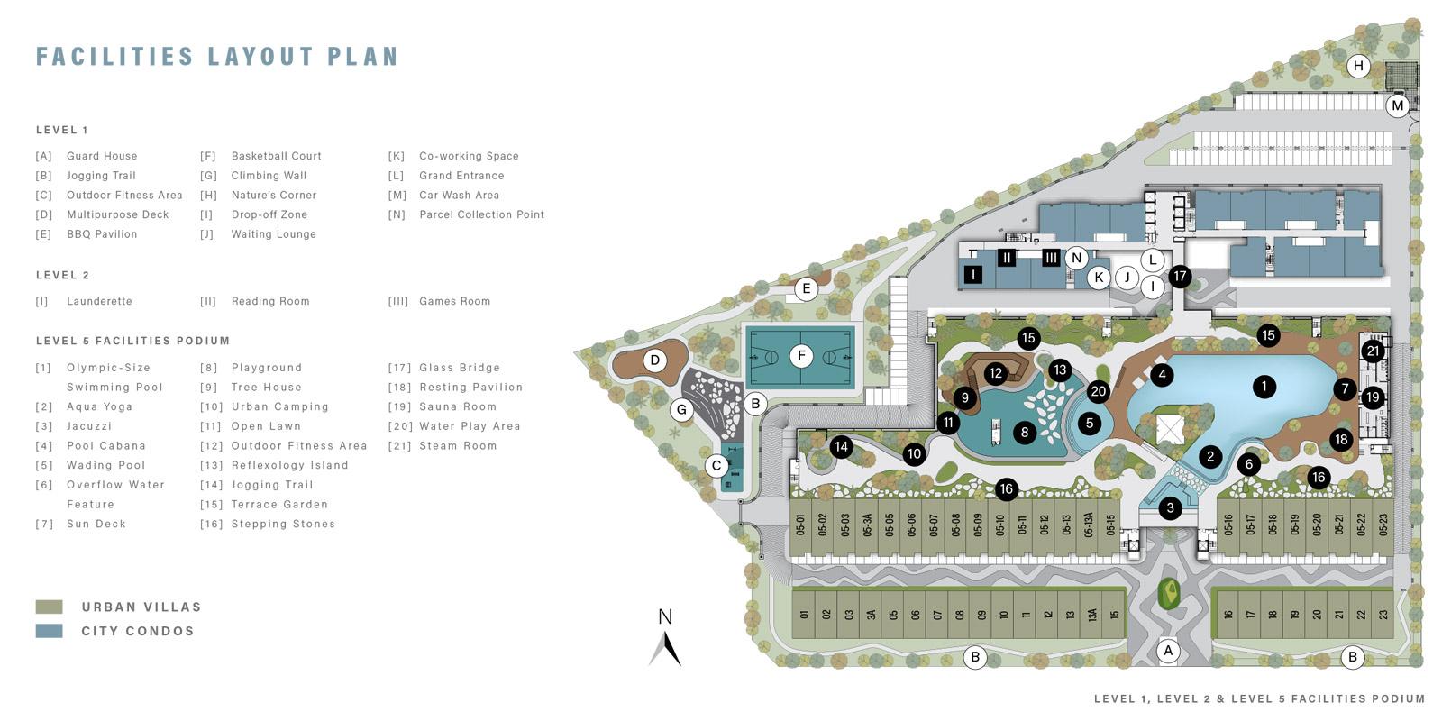 dBrightton Facilities Layout Plan